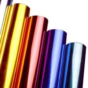 Quality Hot Stamping Foil for Plastics Glass Metallic Products for sale