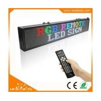 Exclusive designed RGB remote led sign with Multiple Text Line