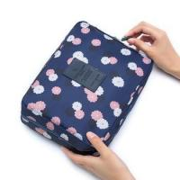 Korea double layer waterproof Oxford cloth travel toiletries cosmetic bag