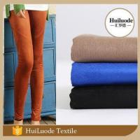 Buy cheap suede/micro suede Wholesale cheap high quality anti static polyester spandex fabric for legging product