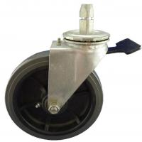 Buy cheap Heavy Duty Caster 8x2 inch industrial swivel stem caster with PU wheel product