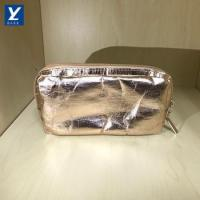 Washable Kraft Paper Cosmetic bag With Zipper