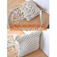 Crochet Handbags, Handmade Purses, Straw Beach Bags