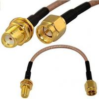 Buy cheap SMA Male to SMA Female Cable Assembly Cable RG316 product