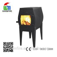 China 2015 popular small cast iron wood burning stove for sale on sale