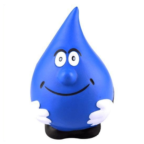 Quality Water Drop Figure PU Stress Ball Toy for sale