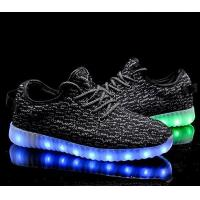 Buy cheap Promotional LED Glow Up Shoes LED Light USB Rechargeable PU Leather Shoes product