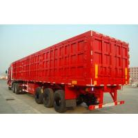 3 axles mineral powder trailer