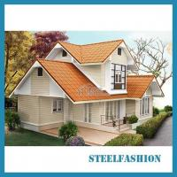 Buy cheap Southeast Asian style 2 floors luxury prefabricated house product
