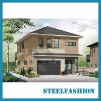 Buy cheap 2storey 70sqm small steel frame buildings with garage product