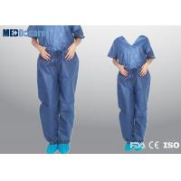 Buy cheap Disposable surgeon scrubs manufacturers two piece in shirts and pants product