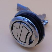 Buy cheap Polished 316 Stainless Steel Round Turning lock hatch lift handle from wholesalers