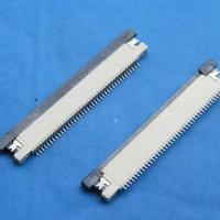 Buy cheap FPC 0.50mm pitch 1.0H ZIF board down product