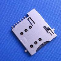 Buy cheap microSim push type 6+1pin with CD can be reversed to the PCB product