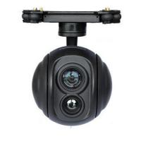 Buy cheap 18X IR Dual Sensor of visible light and thermal camera with gimbal from wholesalers