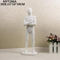 China Resin craft Resin human crafts on sale