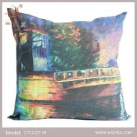 China HQJ Textile zippered couch cushion covers on sale
