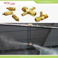 Buy cheap Stainless Steel High Pressure Water Mist Cooling System product