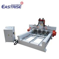 Buy cheap 4 Spindles CNC Router for Cylinder Material, Table Leg,with Rotary Device product