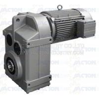 China F107 FA107 FF107 helical gear parallel shaft speed reducer FAF107 on sale