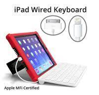Buy cheap APPLE MFI CERTIFIED WIRED KEYBOARD from wholesalers