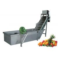 Buy cheap Vegetable & Fruit Automatic Air Bubble Washing Machine from wholesalers