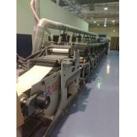 Buy cheap Omet Varyflex 8 colours Flexo printing machine 520 mm  20 inch full UV and hot foil stamping from wholesalers