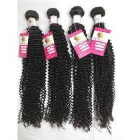 Buy cheap Peruvian Virgin Kinky Curl Hair Weave Double Wefted Human Hair Extensions Tangle Free Hair #96482 from wholesalers