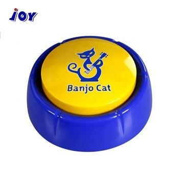 China High Quality Custom Funny Electronic Recordable Push Button Voice Factory Price Talking Button