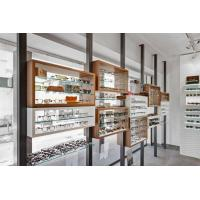 Buy cheap Glass Eyewear Wall Display Shelves Design from wholesalers