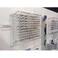 Buy cheap Acrylic Wall Mounted Eyewear Display Design from wholesalers