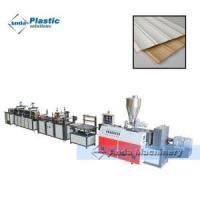 Buy cheap wpc and pvc decorative wall door panel production line from wholesalers