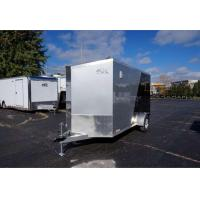 Buy cheap 6' x 12' Two-Tone Enclosed Cargo Trailer with 2' Wedge Nose from wholesalers