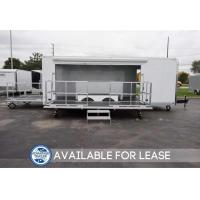 Buy cheap 24' Stage Trailer with 15' Stage - Lease or Rental Unit from wholesalers