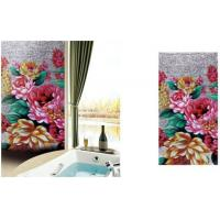 China Boutique Decoration Idea Mosaic Flower Glass Wall on sale