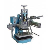 China manual hot stamping machine for leather on sale