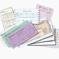 factory made customized Invoice printing, note pad printing