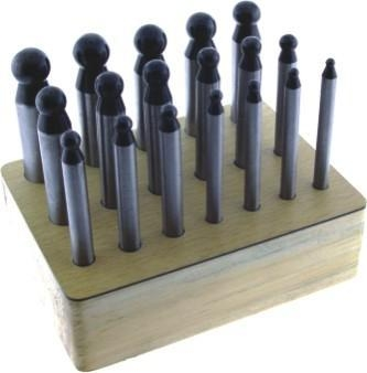 Quality Dapping Punch set of 18 for sale