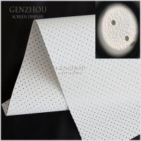 Buy cheap WFS1--White Perforated (1.0) Acoustically Fabric product