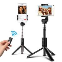 Buy cheap 2018 Bluetooth remote control selfie stick for 90% mobile phone from wholesalers