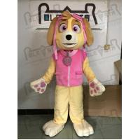 Buy cheap Helicopter pink dog mascot costumes Skye Paw Patrol product