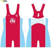 Buy cheap Specialized Custom Sublimation printing cheap wrestling singlets for sale product