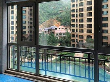 China Soundproofing Aluminum Casement Strong Sealing Window