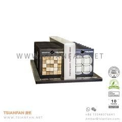 China Custom Glass Mosaic Tile Table Display Stand