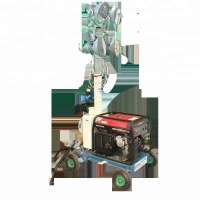 Buy cheap Trolley Light Tower product