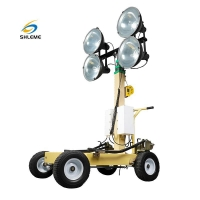 Buy cheap Trolley Metal Halide Light Tower product