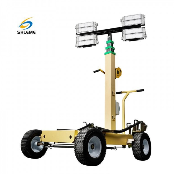 China Trolley LED Light Tower