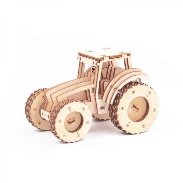 China GK-Wood Tractor 3D Puzzle