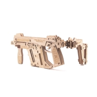 Buy cheap GK-Wood Full Auto Rubber Band Sub-Machine Gun 3D Puzzle from wholesalers