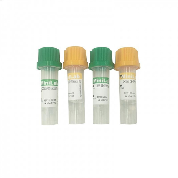 China China supplier medical supply disposable mini 0.25ml 0.5ml blood collection tube with CE certificate